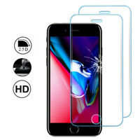 "2x Cristal Blindado Apple Iphone 8 4.7""Protector de Pantalla Completo Borde"