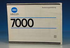 Minolta 7000 Manuale German manual - (101911)