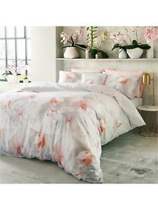 TED BAKER COTTON CANDY  PILLOW CASES X2  ~ COLOUR PINK ~ NEW  ~ PAIR PILLOWCASES