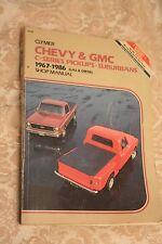 Clymer Chevy & GMC C-Series Pick-ups - Suburbans 1968-1986 Gas & Diesel  A238