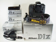 Nikon D1X 5.3MP Digital SLR Camera Body with 3 Batteries, Chargers & More