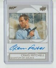 James Bond Collection Autograph Trading Card Graig Mitchell Quantum of Solace