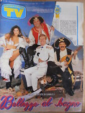 TV Sorrisi e Canzoni n°26 1991 Paolo Valllesi Blob Jocelyn Elia  [D45]
