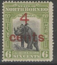 George V (1910-1936) Mint Hinged North Bornean Stamps