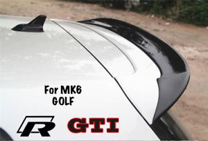 MK6 Volkswagen Golf GTI&R Carbon Fibre Spoiler 10-13