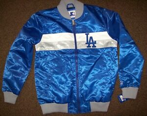 LOS ANGELES DODGERS MLB STARTER Full Zip Jacket Sping/Summer BLUE/GRAY