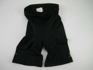 Mens Large Cannondale Chrono black padded compression shorts