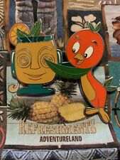 Disney's Orange Bird Trader Sam's HippopotoMai-Tai Fantasy Pin LE 100