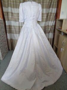 (113)Edles Damen Braut Standesamt Abend Kleid  GR: GR: 46