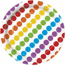 Art de la table de fête assiettes multicolores sans marque pour la maison