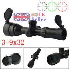 Hunting 3-9x32 Mil Dot Zoom Sniper Airsoft Scope Tactical Telescopic Sight Scope