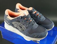 WOMEN'S ASICS GEL-LYTE III INDIA INK SIZE UK 4 EU 37 CASUAL OG DS TRAINERS SHOES
