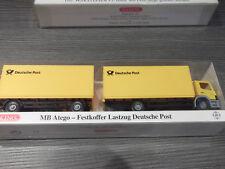 Wiking 82-09 Mercedes Benz Atego Festkoffer-Lastzug Deutsche Post PMS 1:87 m.OVP