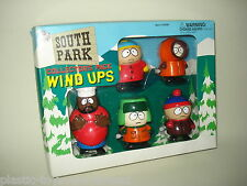 Vintage SOUTH PARK COLLECTOR'S PACK WIND UPS 1998 Boxed CARTMAN STAN CHEF KYLE