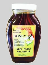 Raw Natural Organic Honey (32oz) - FREE SHIPPING
