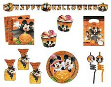 Disney MICKEY MOUSE HALLOWEEN Party Range - Tableware Balloons & Decorations