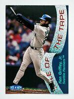 Ken Griffey Jr. #329 (1998 Fleer Tradition) Tale of the Tape, Seattle Mariners