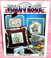 Stoney Creek Collection Tickle Your Funny Bone Cross Stitch Chart Book