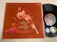 Paul Weston Sweet And The Swingin' LP Capitol Mono Angel & Devil Cheesecake M-!!
