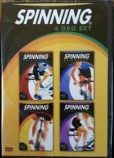 Brand New SPINNING SYSTEM by Mad Dogg Athletics 4 DVDs!  FREE SHIPPING!!!