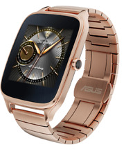 "Asus Zenwatch 2 1.63"" Android Wear Smartwatch Rose Gold Quick Charge WI501Q-RM"