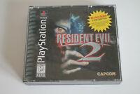 Resident Evil 2 US VERSION - Playstation 1 PS 1 - Capcom 1998