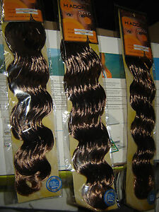3 sachets rajout afro cheveux hollywood curl T4/27