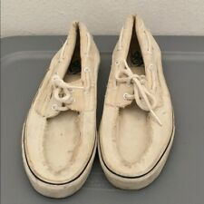 Mens Vans beige casual sneakers with laces size 11.5