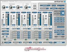 NEW - Antares Harmony Engine EVO - Download - Vocal Modeling Plugin Software VST