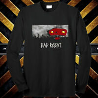 Bad Robot Famous Production Logo Long Sleeve Black T-Shirt Size S to 3XL