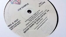 "Joe Sample....Seven Years Of Good Luck....Rare 12"" Promotional Vinyl PRO-A-3537"