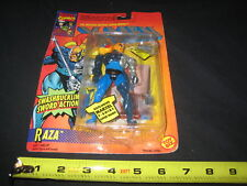 RAZA X-MEN TOY BIZ 1994 MARVEL GENUINE AUTHENTIC COLLECTIBLE ACTION FIGURE NEW