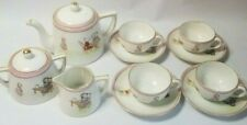 13 piece Noritake Nippon Morimura Vintage Children's Tea Set