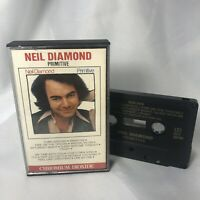 "Vintage Neil Diamond ""Primitive"" Chromium Dioxide Cassette Tape TESTED WORKS"