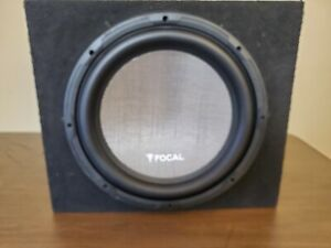 """Focal Access 30A4 12"""" Subwoofer 4-Ohm 250 Watts RMS with Box"""