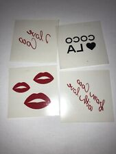 Coco Chanel Temporary Tattoos From LA Event