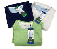 Brand New Orvis Men's Long Sleeve Slub Shirt Size/ Color Variety Blue green grey