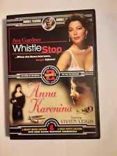 """""""WHISTLE STOP """"  (1946)  &  """" ANNA KARENINA """"  (1945)  FILM NOIR MOVIES."""