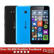 Microsoft Lumia 640 Unlocked 8GB Smartphone RM-1072 - Matte Black/ Glossy Cyan