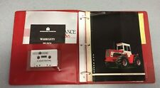 International Operator's Manual Binder -With 50 Series Tractor Cassette Tape