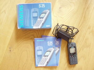 * Vintage Handy Siemens S25 - Top Zustand *