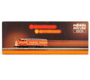 MARKLIN MINI-CLUB 8809 Z GAUGE GM EMD F7 Southern Pacific Daylight
