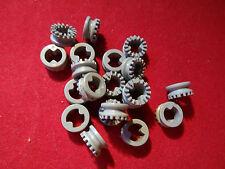 Lego parte 4265b Gris Claro Technic 1/2 Bush dentadas Tipo 11 X 20
