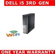 DELL 7010 i5 3rd GEN COMPUTER PC 16GB 480GB SSD DUAL SCREEN WINDOWS 10 OR 7 WIFI