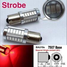 Strobe 7507 BAU15S PY21W 33 LED Projector Red Bulb Rear Signal #12 B1