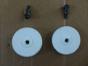 Whirlpool Dishwasher Wheel Leg & Screw - Set of Two Part #: 302819 - WP302819