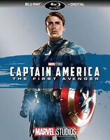 CAPTAIN AMERICA THE FIRST AVENGER (BLU-RAY+DIGITAL)NO SLIPCOVER NEW