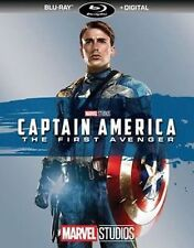 CAPTAIN AMERICA THE FIRST AVENGER (BLU-RAY+DIGITAL)NEW UNOPENED