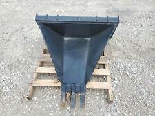 New Listingnew Heavy Duty Stump Bucket Skid Steer Loader Attachment Express Steel