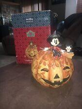 Walt Disney Jim Shore SPELLBINDING HALLOWEEN Minnie Mouse New In Open Box